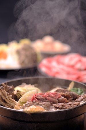 1 steam and sukiyaki photo