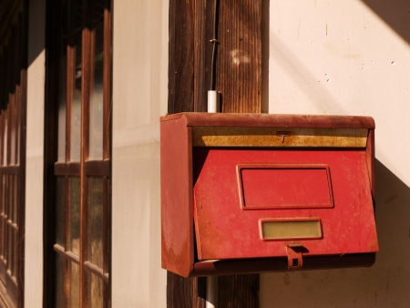 An old postbox photo