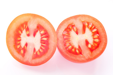Cross-section of the tomato photo