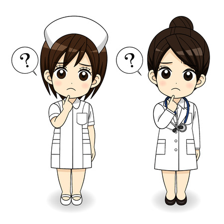 Think mini woman doctor photo