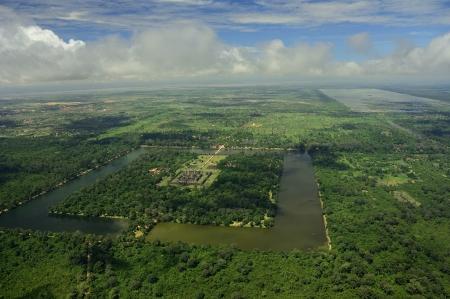 Angkor Wat panoramic view photo