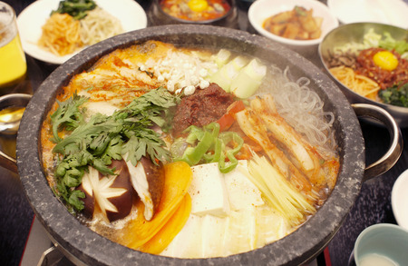 Kimchee pot dish photo
