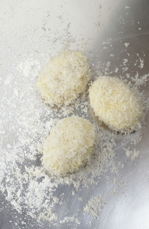 breadcrumbs: Croquettes with breadcrumbs