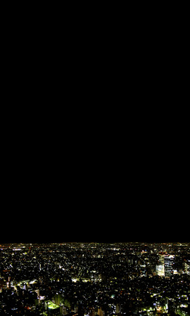 tokyo prefecture: Cityscape at night,Tokyo Prefecture,Honshu,Japan