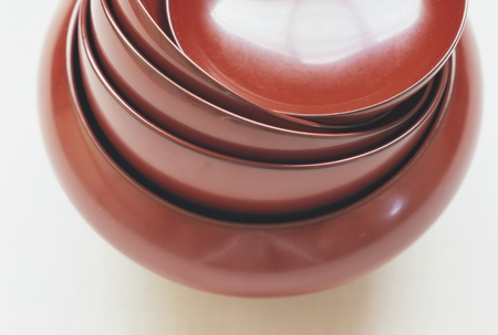 lacquered: Lacquered bowls