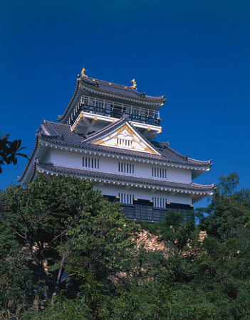 gifu: Hachiman Castle,Gifu Prefecture,Japan