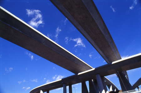 tokyo prefecture: Elevated road against sky,Tokyo prefecture,Japan