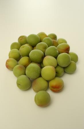 unripe: Unripe plums