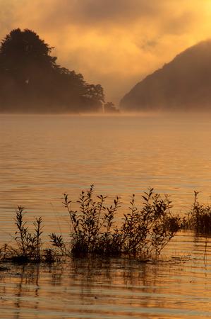 fukushima: Akimoto lake,Kitashiobara-son,Fukushima Prefecture,Japan