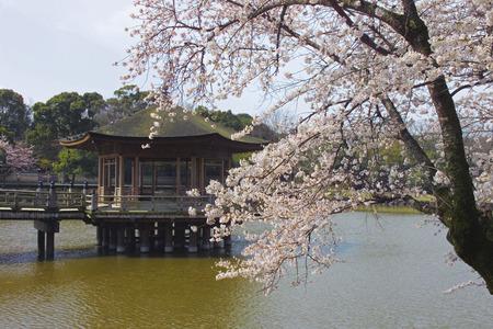 Ukimido Temple,Nara Prefecture,Japan.