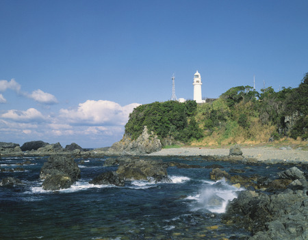 honshu: Shionomisaki lighthouse,Wakayama Prefecture,Honshu,Japan