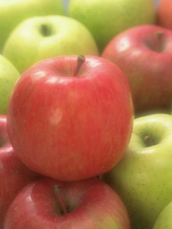 soft focus: Manzanas, foco suave