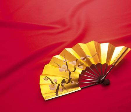 eventail japonais: Ventilateur japonais Banque d'images
