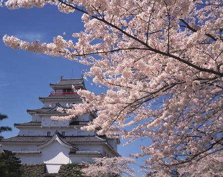 fukushima: Aizuwakamatsu Castle,Fukushima Prefecture,Japan