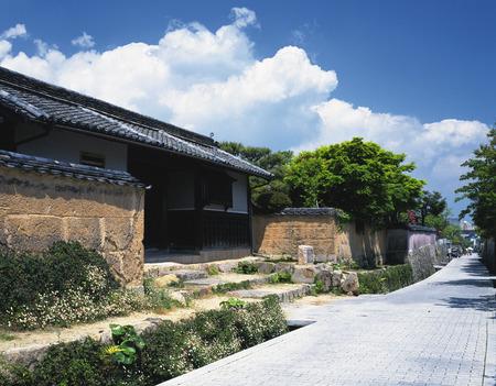 honshu: Front gate of Suga house,Yamaguchi Prefecture,Honshu,Japan Editorial