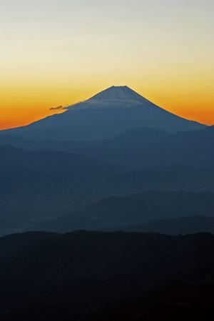 honshu: Mt. Fuji at dawn,Yamanashi Prefecture,Honshu,Japan