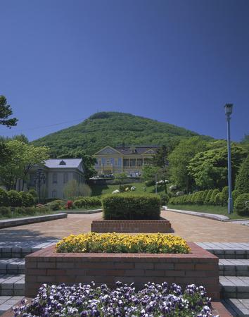 Hakodate Motomachi Park. Hokkaido,Japan photo