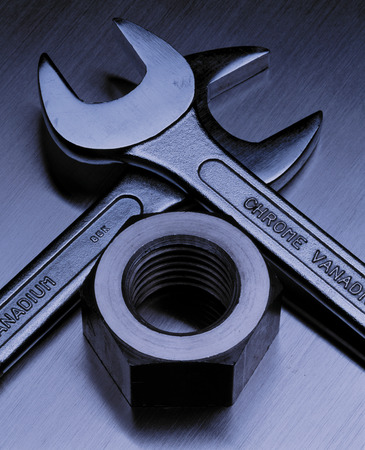 things that go together: Wrenches and nut
