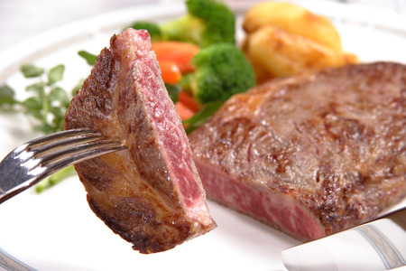 sirloin steak: Sirloin steak