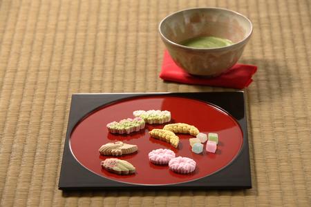 maccha: Japanese sweets