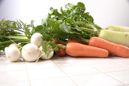 root vegetables: Root verdure Archivio Fotografico