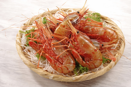 botan: Botan shrimp Stock Photo