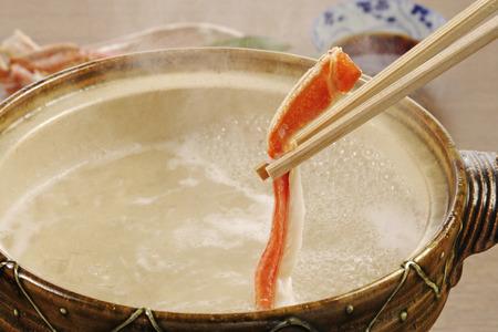 crab pot: Pot dish of crab