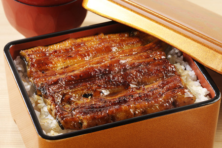 broiled: Broiled eels on rice