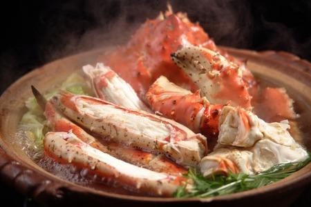 crab pot: Hot pot (king crab)
