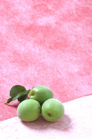 ume: Unripe ume fruit