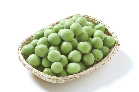 unripe: Unripe ume fruit