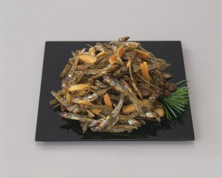 sardinas: Sardinas secas de almendras