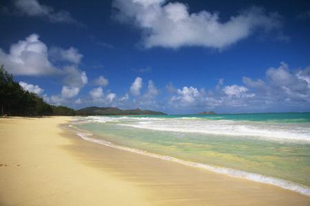 wavelet: beach Stock Photo