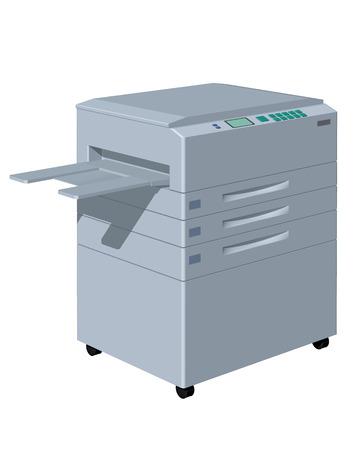 copy machine: CG image of the copy machine