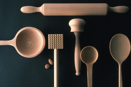 utensilios de cocina: Utensilios de cocina Foto de archivo