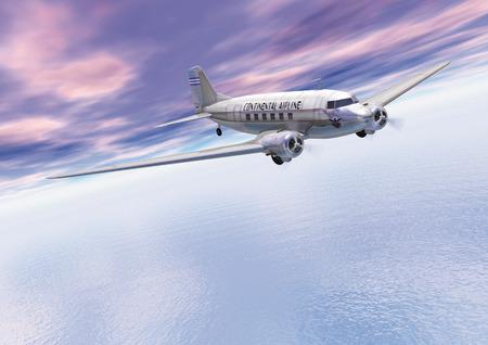 douglas: Douglas DC3, CG