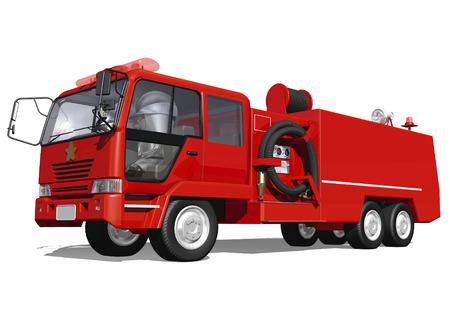 camion pompier: Camion de pompiers