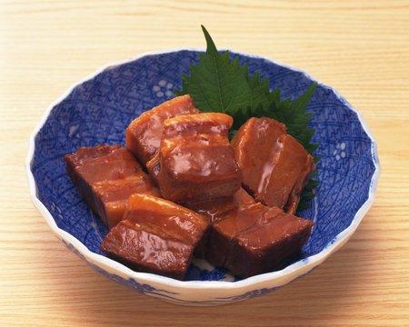 cubed: Cubed pork stew