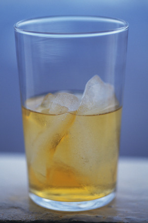 diluted: Diluted whiskey Stock Photo