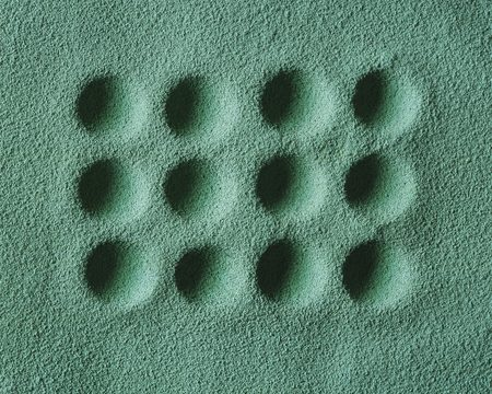 dimple: Dimple in Sand Pattern