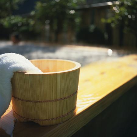 Hot spring image Stock Photo
