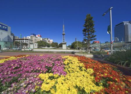 Hisaya Odori Park and Nagoya TV Tower photo
