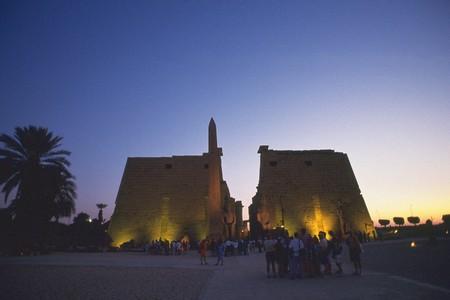 louxor: Temple de Louxor Banque d'images