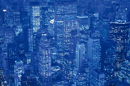 new york notte: New York Night Scene