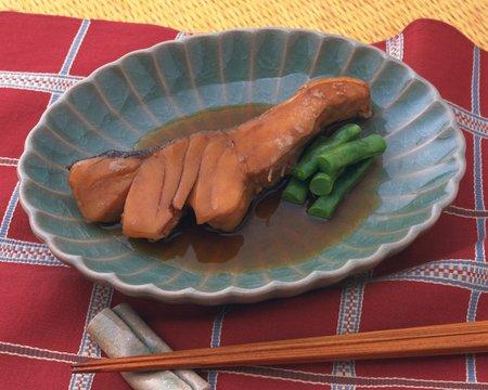 bluefish: Simmered Japanese bluefish