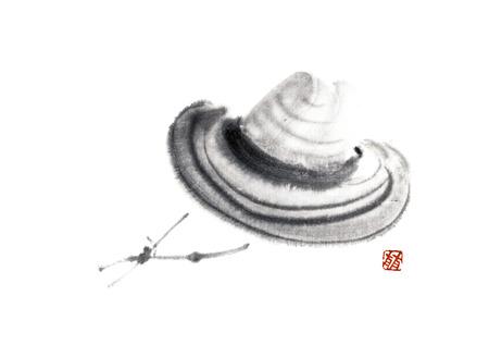 straw hat: Straw hat Stock Photo
