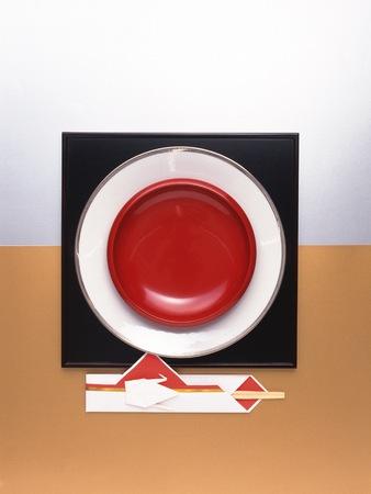 lacquerware: Japanese-style image Stock Photo