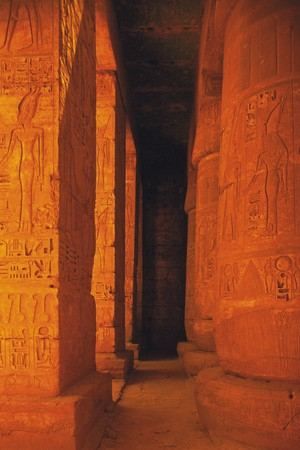 iii: Tomb of Ramesses III Stock Photo