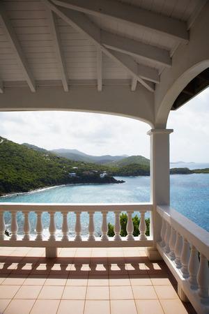 overlooking: Overlooking the sea Stock Photo