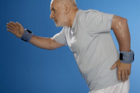 hombre caucasico: Cauc�sica hombre corriendo